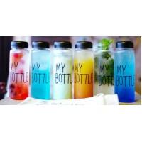 """Бутылка для напитков """"My Bottle"""" из экологического пластика"""