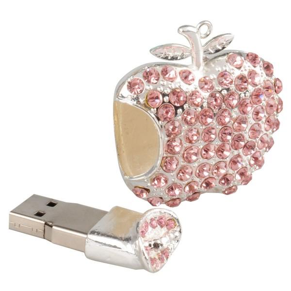 """USB Флешка """"Хрустальное яблоко"""" 8 гб"""