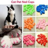Накладные силиконовые колпачки на когти кошек