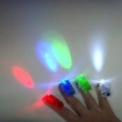 Насадки на пальцы светящиеся в блистере