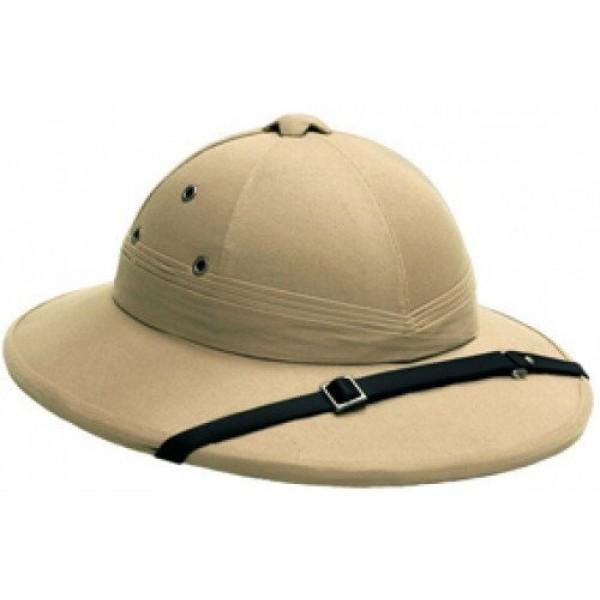 Французский шлем с кожаным ремешком