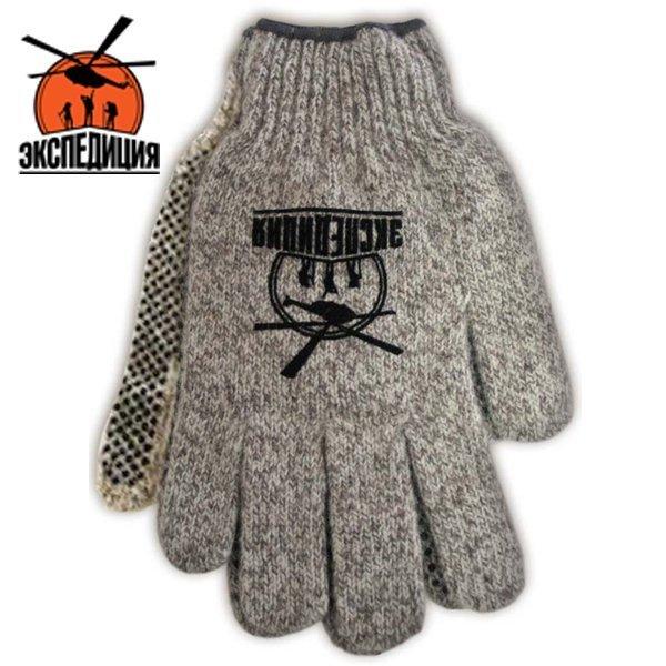 Теплые рабочие перчатки с пальцами