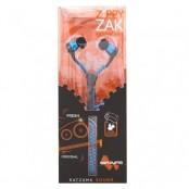 Наушники на молнии c микрофоном Satzuma Zippy Zak