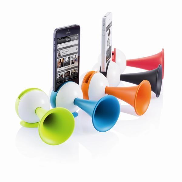 Подставка для Iphone + усилитель звука
