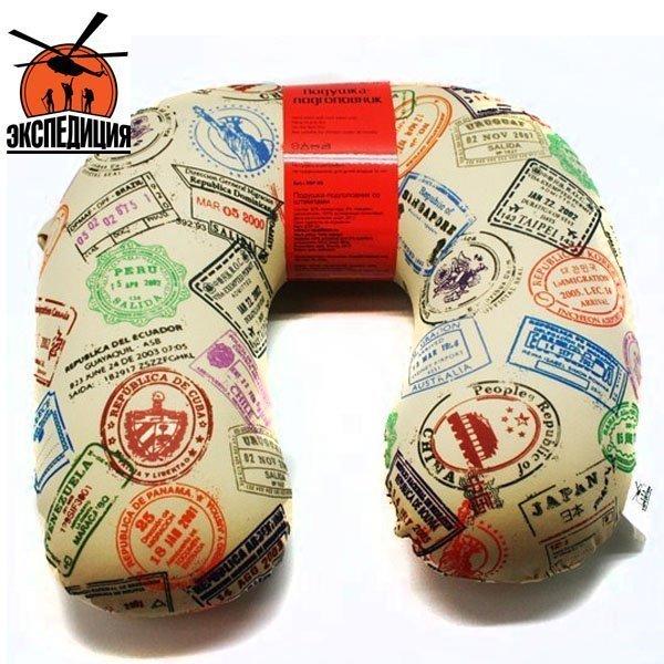 Подушка-подголовник со штампами, антистресс