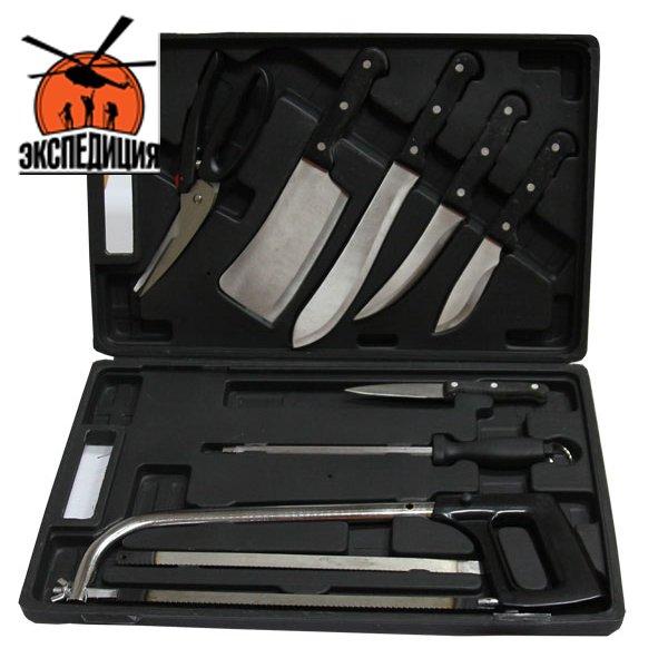 Подарочный набор ножей в кейсе «Стейкхаус»