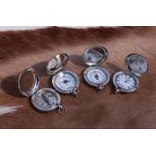 "Набор компас, барометр,гидрометр, термометр в деревянной коробке, ""Паганель"""