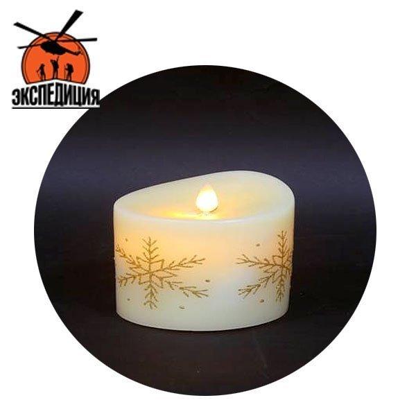 Несгораемая свеча из натурального воска