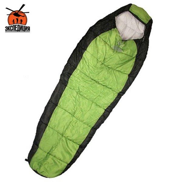 Спальный мешок цвет зеленый