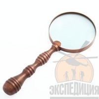 """Сувенирная лупа """"Тихо Браге"""" с ручкой"""