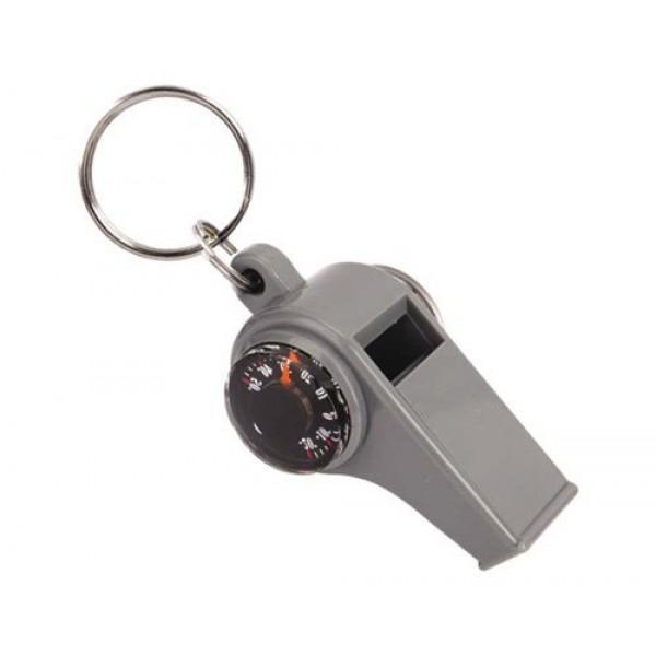 Дорожный свисток с компасом и термометром