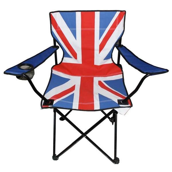 Складной стул «Британский флаг»
