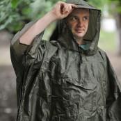 Плащ-палатка с карманом для рюкзака, размер  L, XL