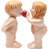 """Солонка и перечница """"Адам и Ева"""""""