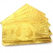 Золотые игральные карты
