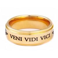 """Кольцо Цезаря """"Veni Vidi Vici"""""""
