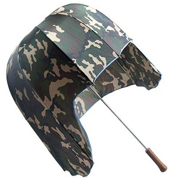 """Зонт трость """"Армейская каска"""""""