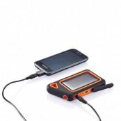 Зарядное солнечное устройство водонепроницаемое, 750 mAh