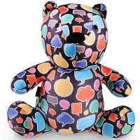 """Подушка игрушка """"Медведьмыслитель"""""""