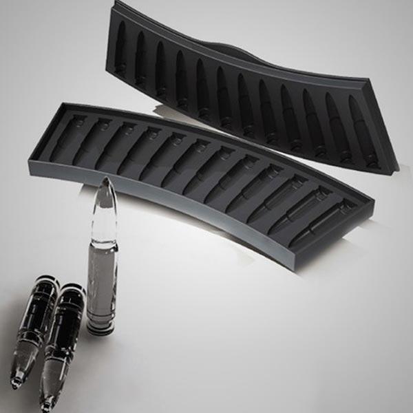 """Форма для льда в виде патрона AK47 """"ПистоЛёд"""""""