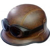 """Шлем мотоциклетный с очками """"Херр-Майор"""""""