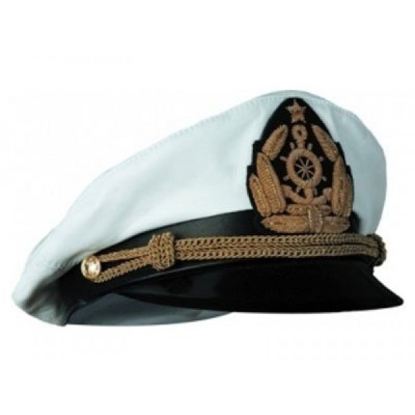 """Капитанка """"Адмиралка""""c вышивкой на козырьке"""