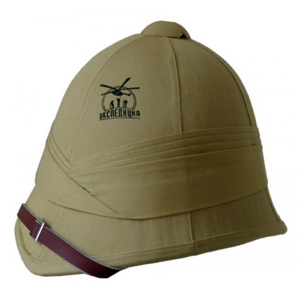 Шлем ручной работы из пробки и натурального легкого хлопка